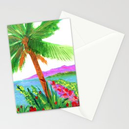 Island Breeze Stationery Cards