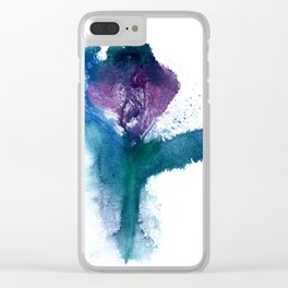 Isabella's Tulip Clear iPhone Case