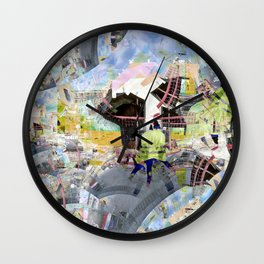 It seems you have to be way out to have a way out. [EDIT] Wall Clock