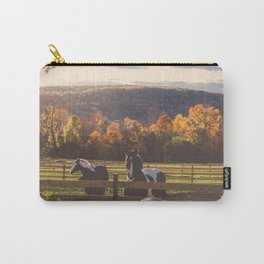 New England Fall Drive Carry-All Pouch