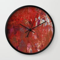 calendars Wall Clocks featuring Haglaz - Runes Series by Fernando Vieira