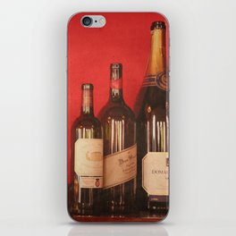 Wine on the Wall iPhone Skin