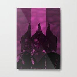 OM Buddha Metal Print