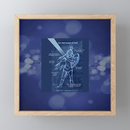 Full Armor of God - Warrior Girl 2 Framed Mini Art Print
