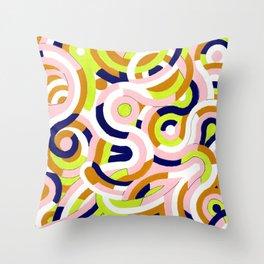 Seigaiha Series - Congeniality Throw Pillow