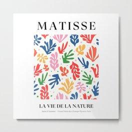 Nature Leaf Cut Outs | Henri Matisse Series Metal Print