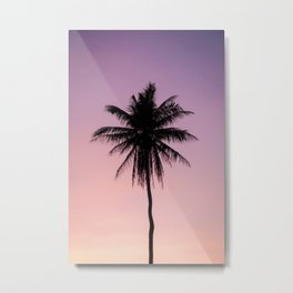 Summer Palms Metal Print