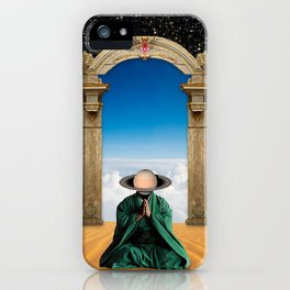 Space Monk II iPhone Case