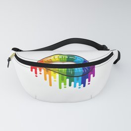 Proud LGBT Dad Perfect Christmas Gift Fanny Pack