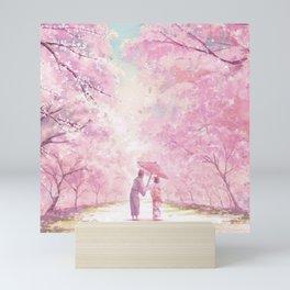 Japan Sakura Cherry Blossom Mini Art Print