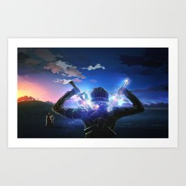 Sword Art Online Art Print