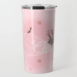 Pink Chocolate Travel Mug
