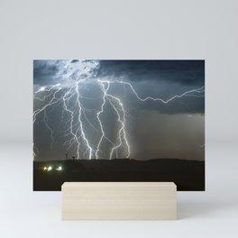 Lightning Cluster Mini Art Print