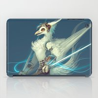 soldier iPad Cases featuring Soldier by Liz Liu