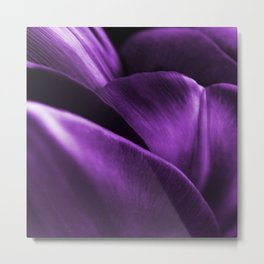 Ultraviolet Flower Petals #decor #society6 #homedecor Metal Print