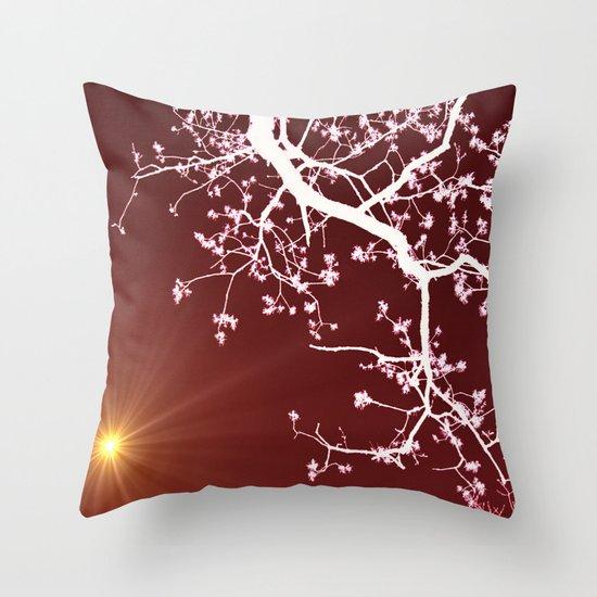Zen energy Throw Pillow