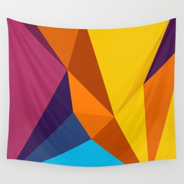 abstract seamless floral pattern exotic shapes Wall Tapestry