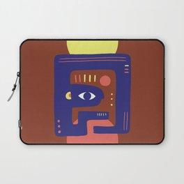 Mother Earth - Minimal Modern Mid-Century Snake Laptop Sleeve