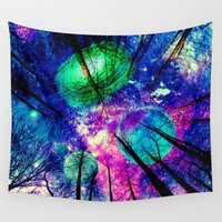decal Wall Tapestries featuring My sky  by haroulita