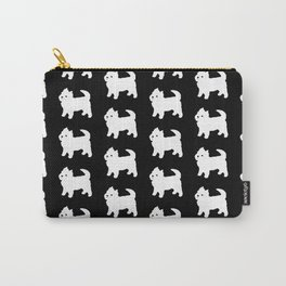 Westie Dog Pattern Carry-All Pouch