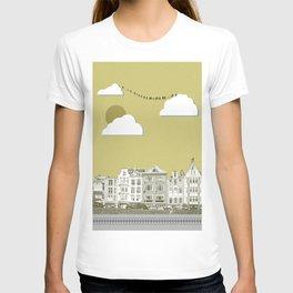 Yellow city T-shirt