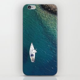 Yachting. iPhone Skin