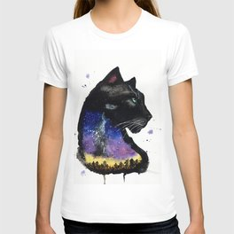 Galaxy Panther T-shirt