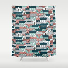 A lot of Houses Shower Curtain