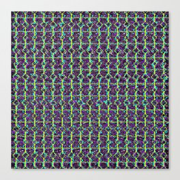 Abstract Circuitry Canvas Print