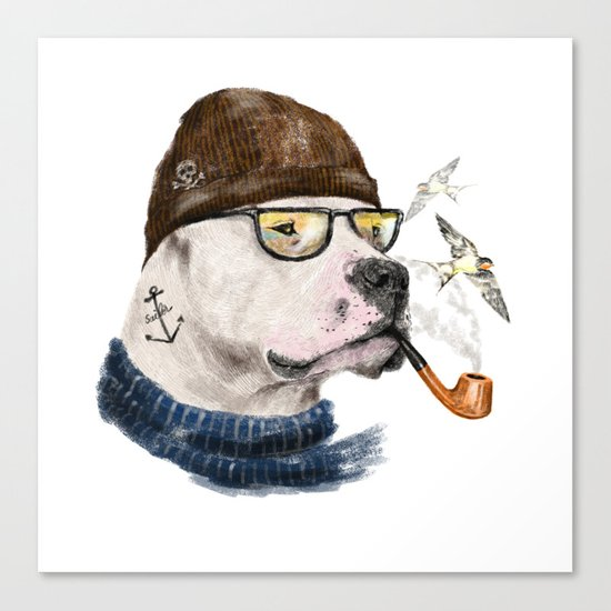 Mr.Mastiff Canvas Print