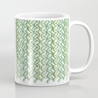 knit Mugs featuring Knit Pattern by VessDSign