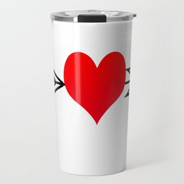 Cupid's Arrow Travel Mug