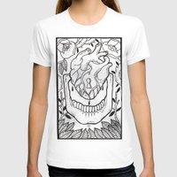 bones T-shirts featuring Bones by Jimmy Kid