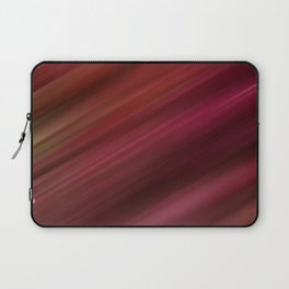 Fresh Rhubarb Stripes Laptop Sleeve