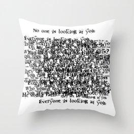 Psychosis Speech 3 Throw Pillow