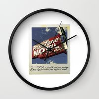 secret life Wall Clocks featuring The Secret of Life by toddisfred