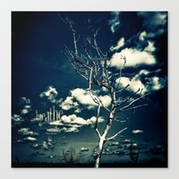 breathe Canvas Prints featuring BREATHE by Steffen Remter