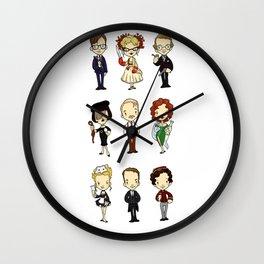 Who-dun-it? Wall Clock