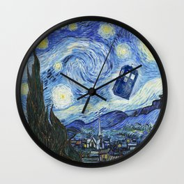 Vincent and The Doctor 2 Wall Clock