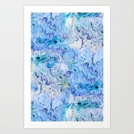 Marble Sky Art Print