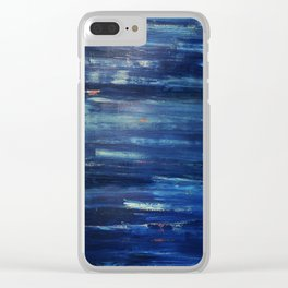 Baby Blue Clear iPhone Case