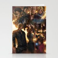 resident evil Stationery Cards featuring Resident Evil 6 by Dr-Salvador