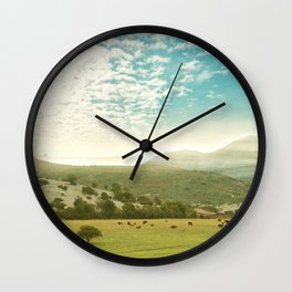 Spring Mood Wall Clock