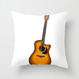 Guitar - Guitar Player Throw Pillow