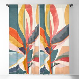 Colorful Branching Out 01 Blackout Curtain