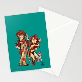 The Doctor, The Warrior, and K-9 Stationery Cards