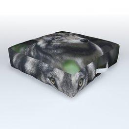 Wolf Outdoor Floor Cushion