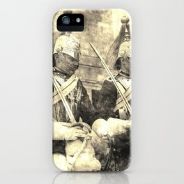 Household Cavalry Changing Of The Guard Vintage iPhone Case