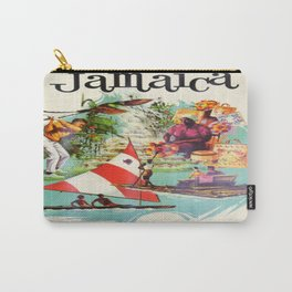 Vintage poster - Jamaica Carry-All Pouch