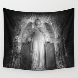 Angel Watching Over You Wall Tapestry
